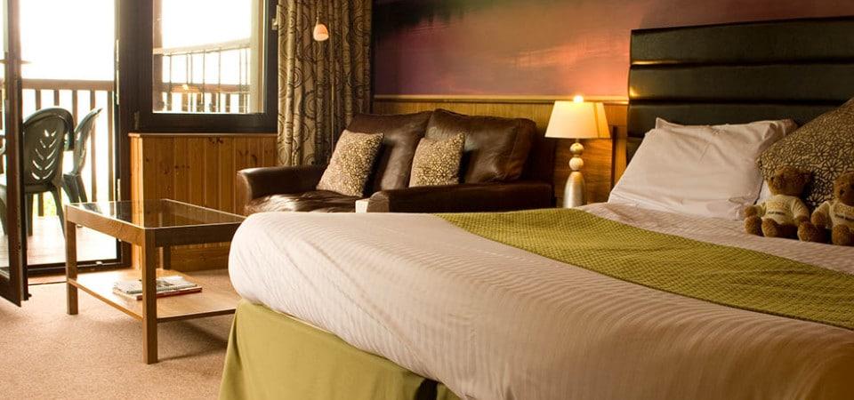 Lodge Corbett Room View