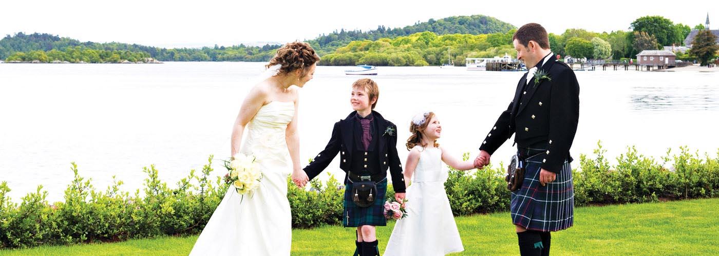 Weddings at Lodge on Loch Lomond