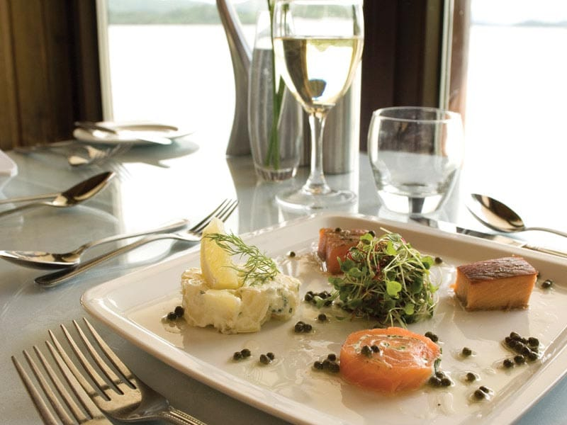 Dining at Lodge on Loch Lomond