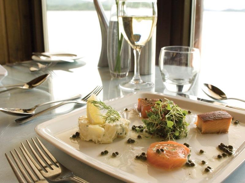 Dining at Lodge on Loch Lomond
