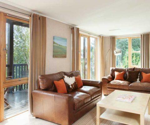 Lodge on Loch Lomond Cuillin Suite Lounge Luxury