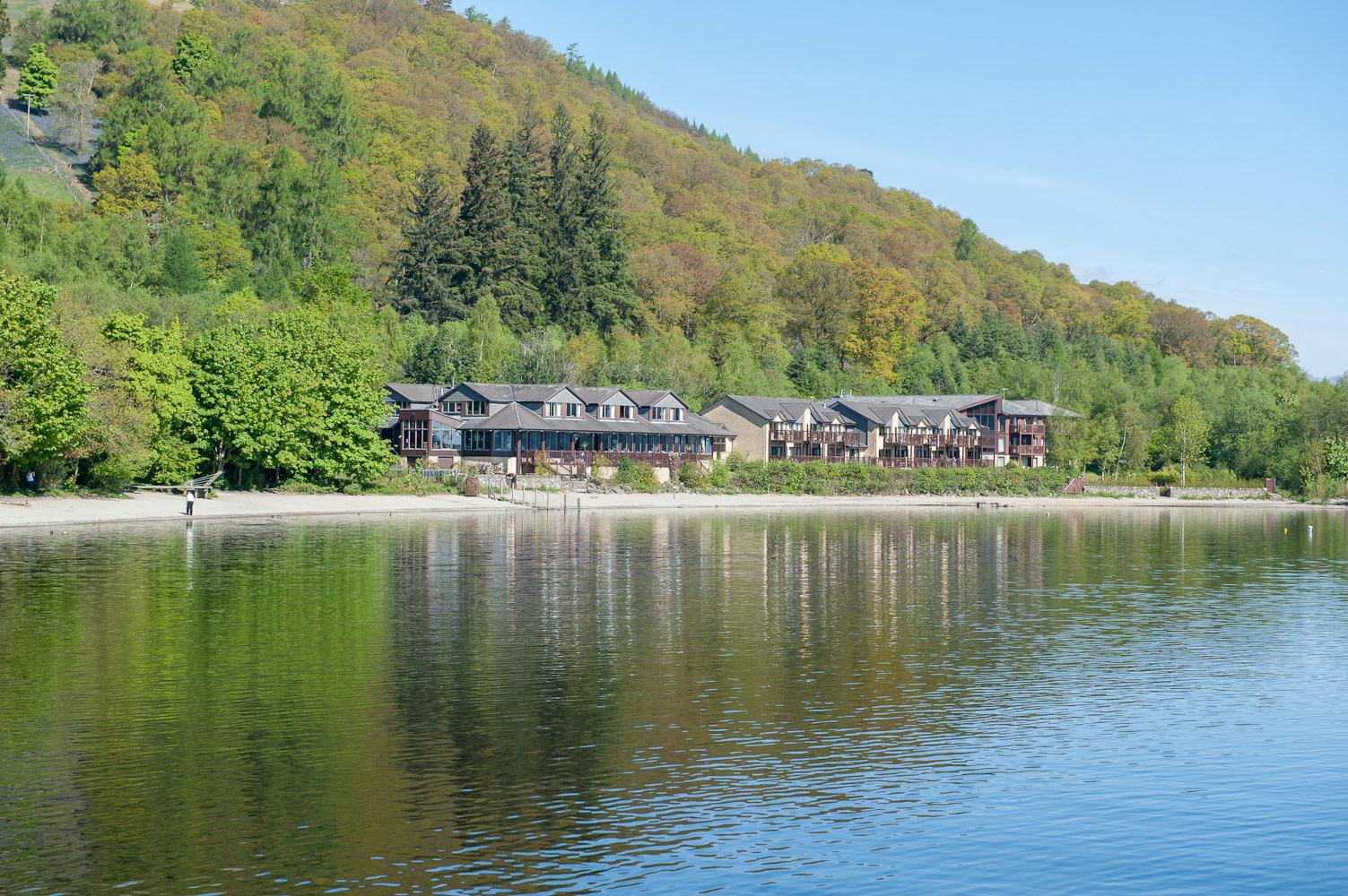 Lodge on Loch Lomond exterior