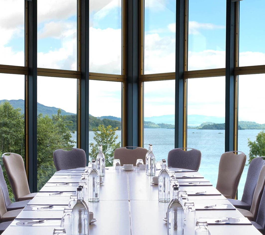 Lodge on Loch Lomond conference boardroom