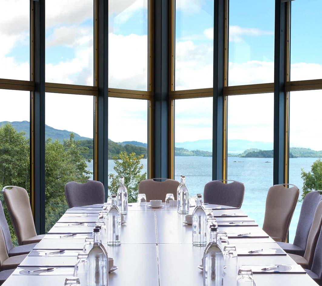 Lodge on Loch Lomond conference boardroom