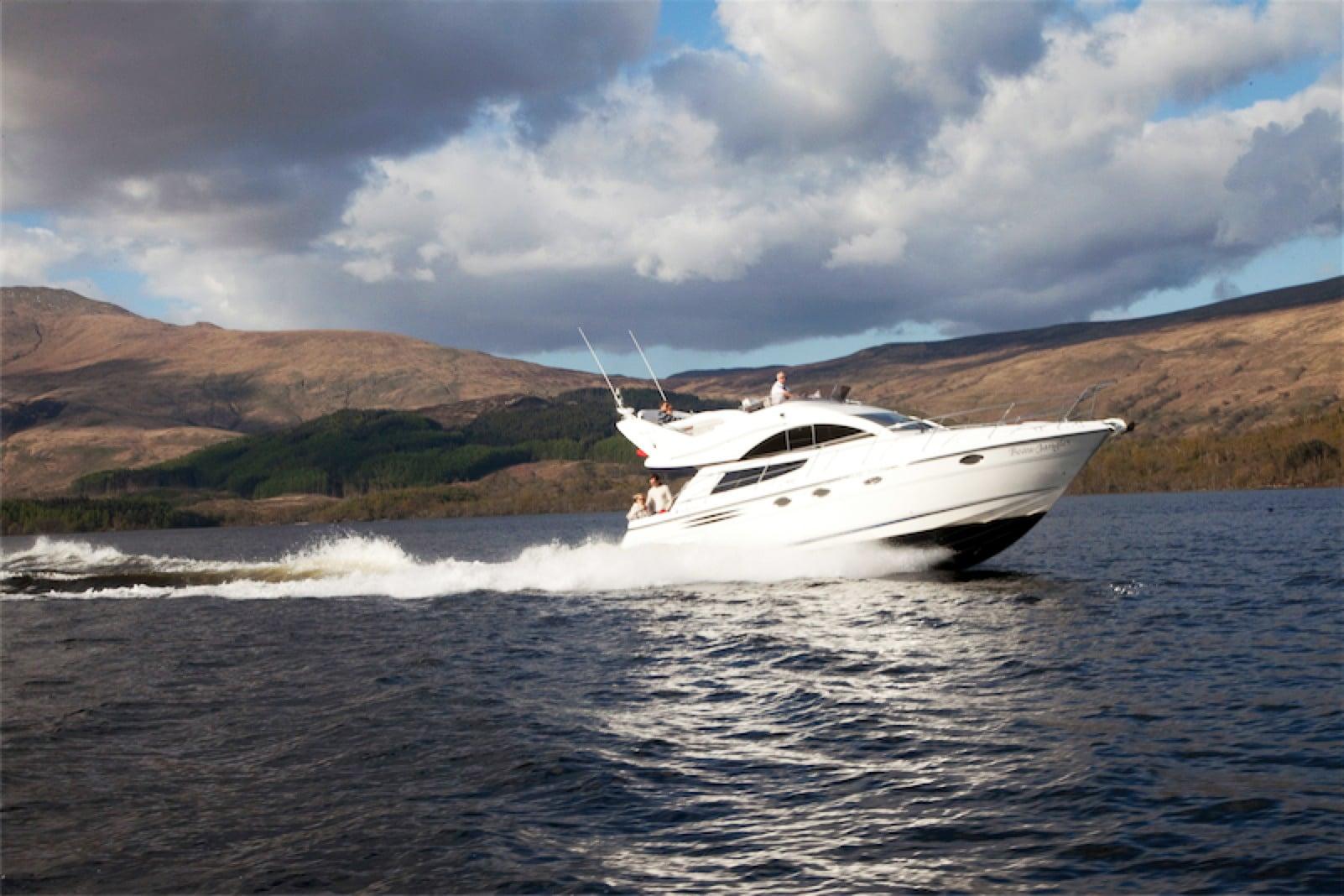 Loch Lomond Beau Jangles Boat Trips