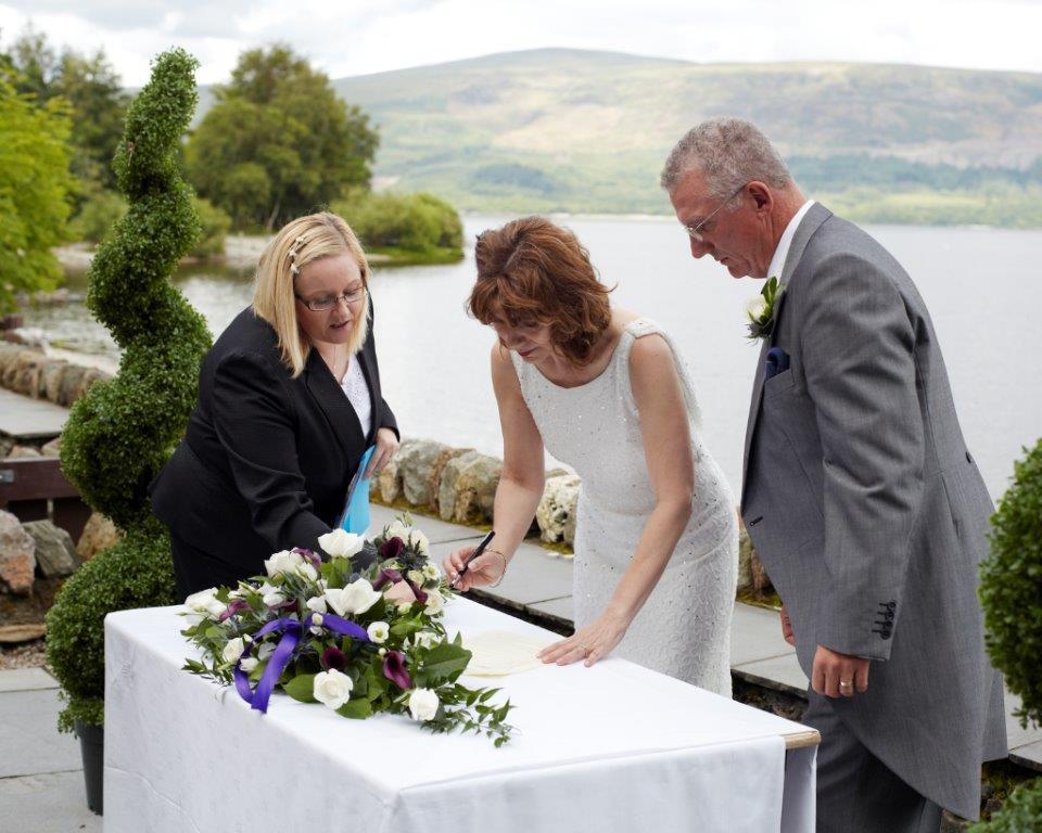 Wedding at Lodge on Lomond