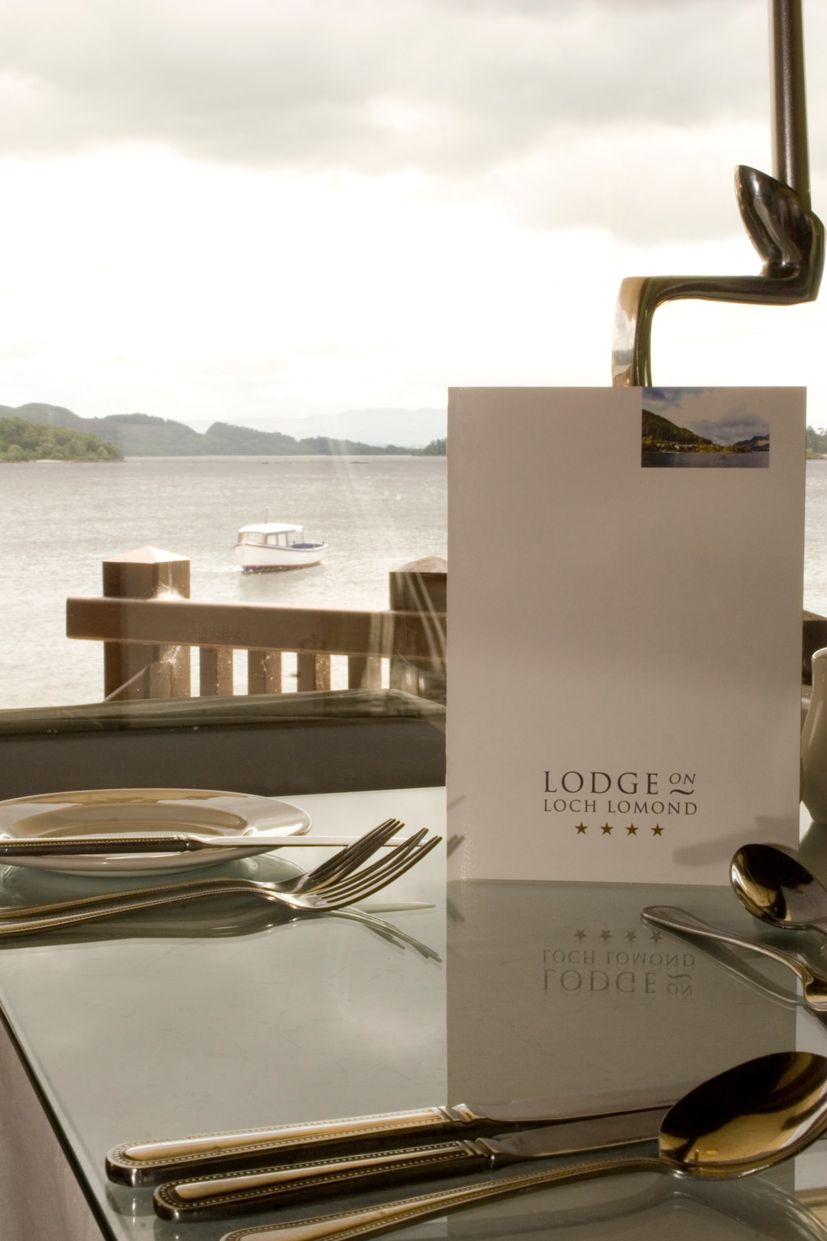 Lodge on Loch Lomond Restauarnt View over Loch Lomond