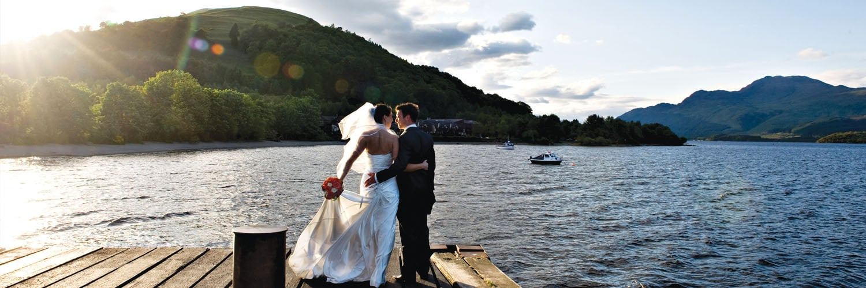 Lodge on Loch Lomond Wedding Photography