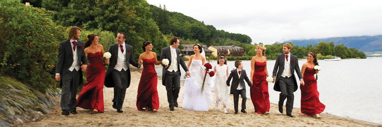 Lodge on Loch Lomond Wedding Memories