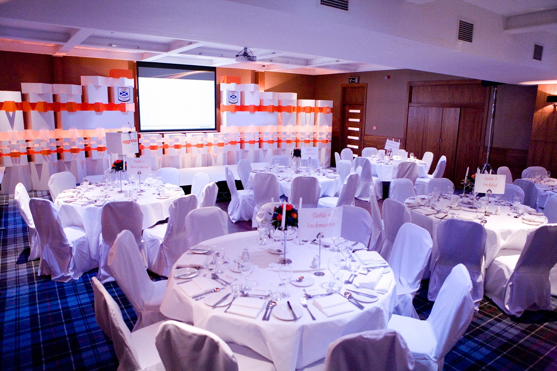 Lodge on Loch Lomond conference setup