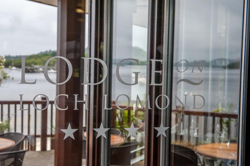 Lodge on Loch Lomond Front Door
