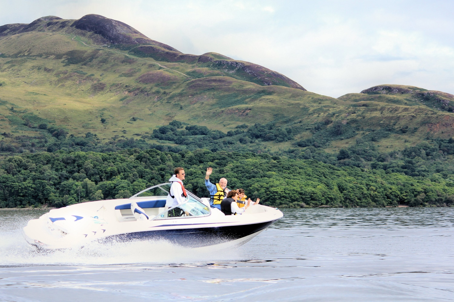 Loch Lomond Boating