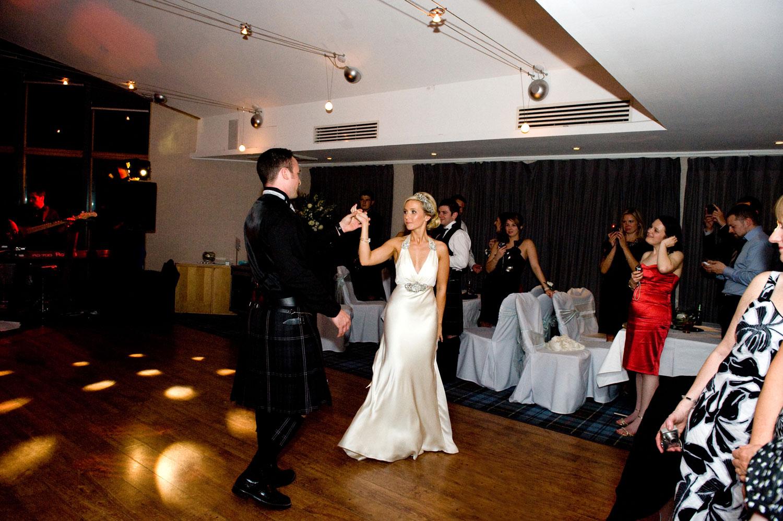 Wedding Dance at Lodge on Loch Lomond