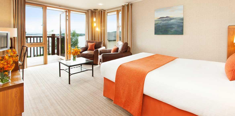 Lodge on Loch Lomond Corbett Room