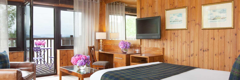 Lodge on Loch Lomond Corbett Bedroom