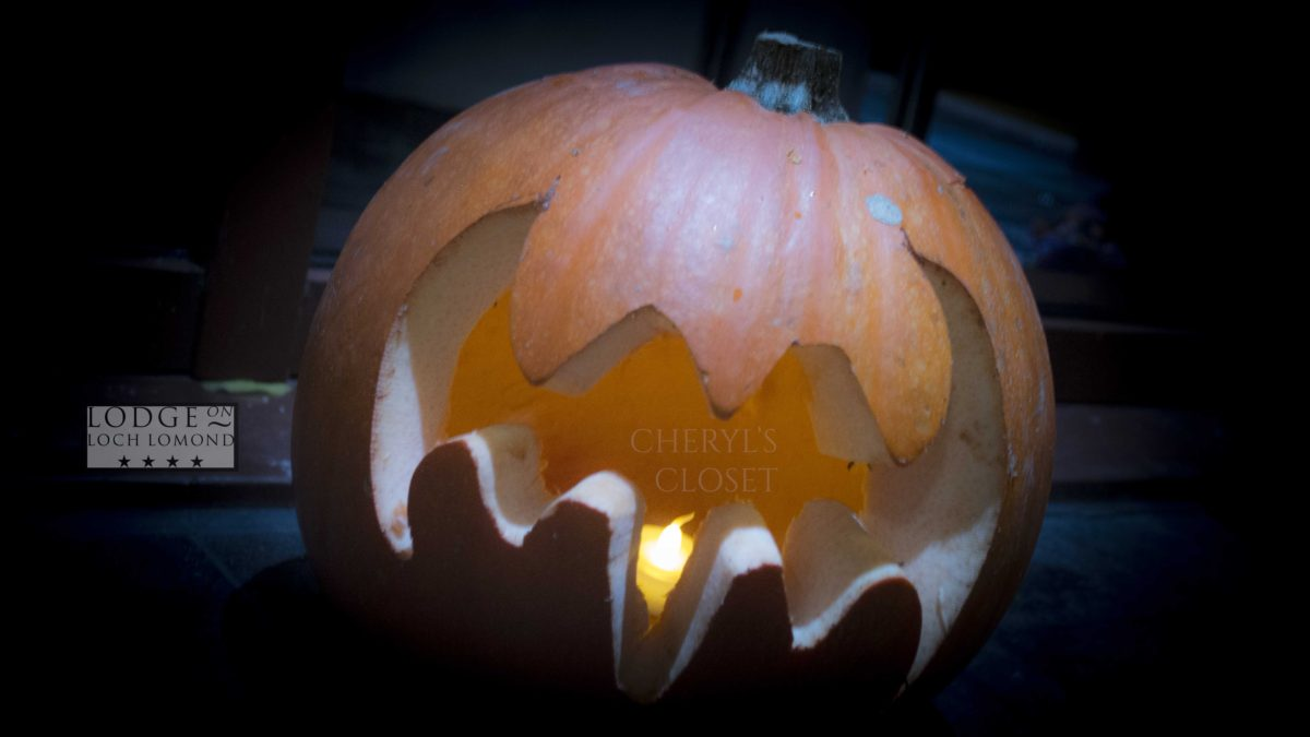 Lodge on Loch Lomond Halloween 2014 Pumpkin