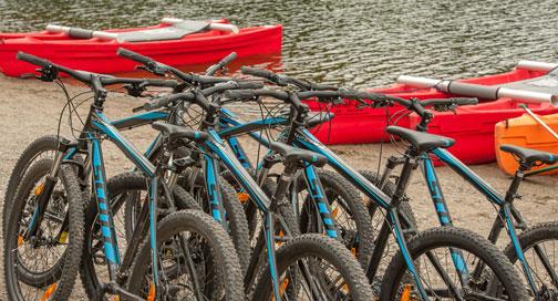SYHA Loch Lomond Bike Riding
