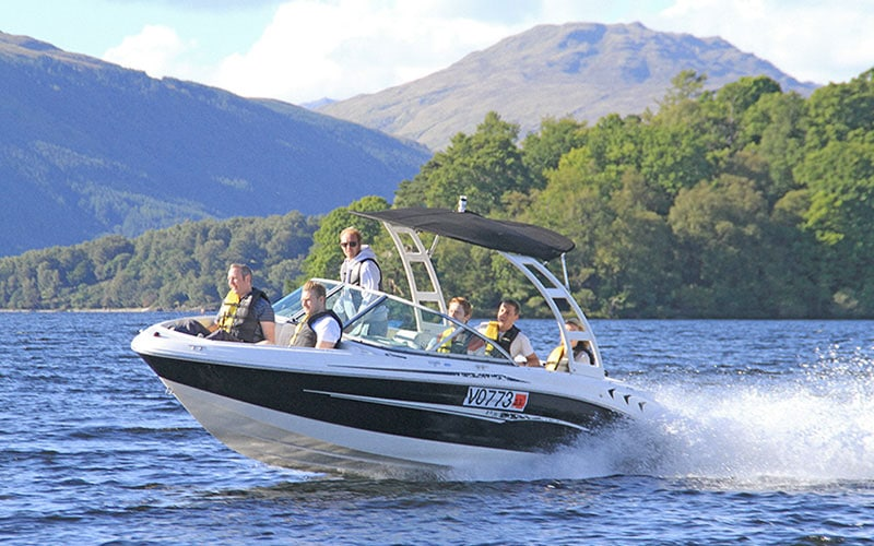 Loch Lomond Leisure Speedboat Tours