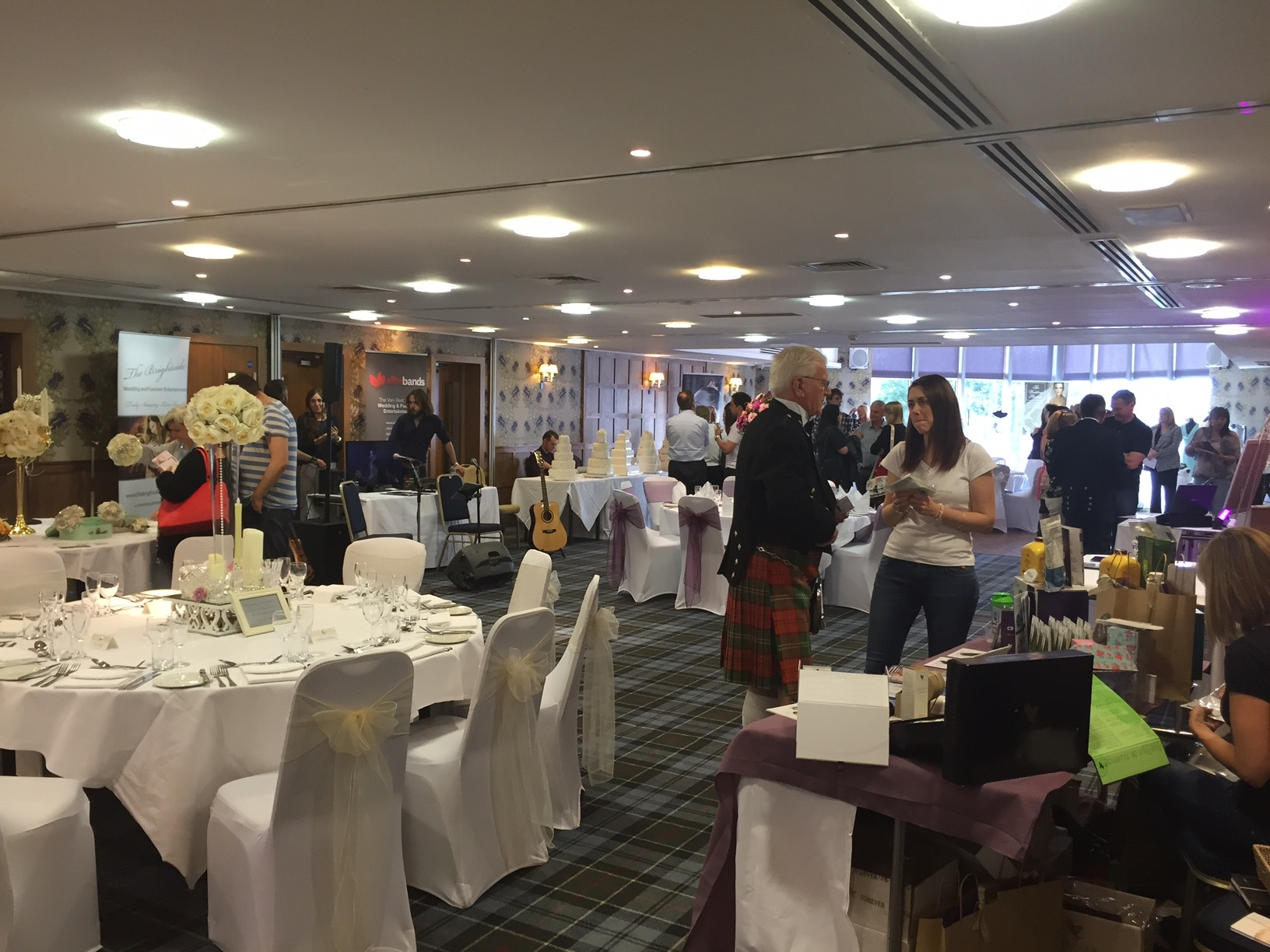 Lodge on Loch Lomond Wedding Show