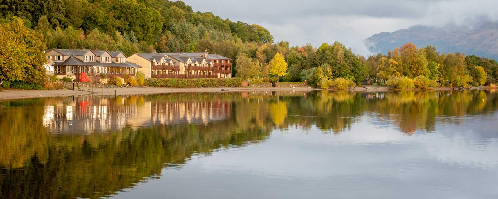 Lodge on Loch Lomond exterior photo