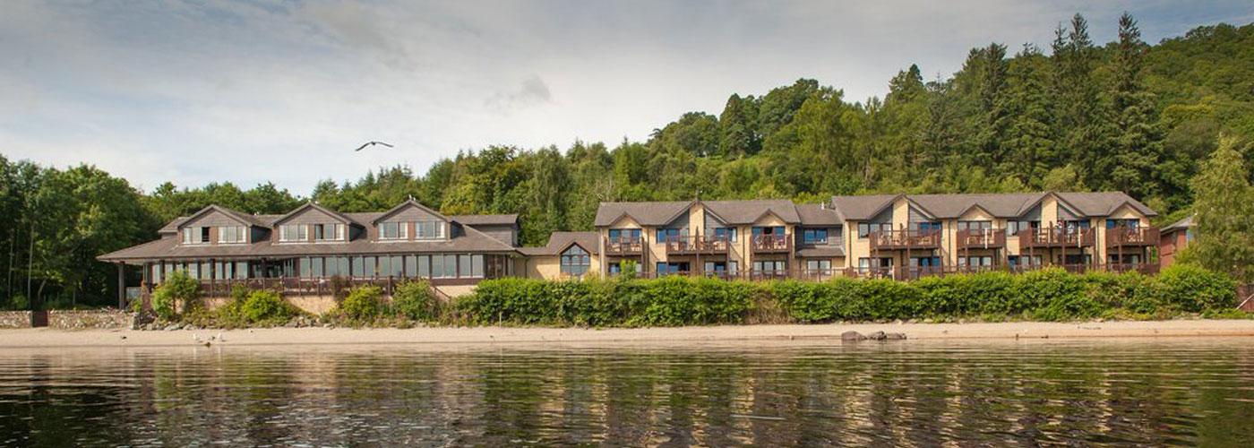 Lodge on Loch Lomond Autumn 2016