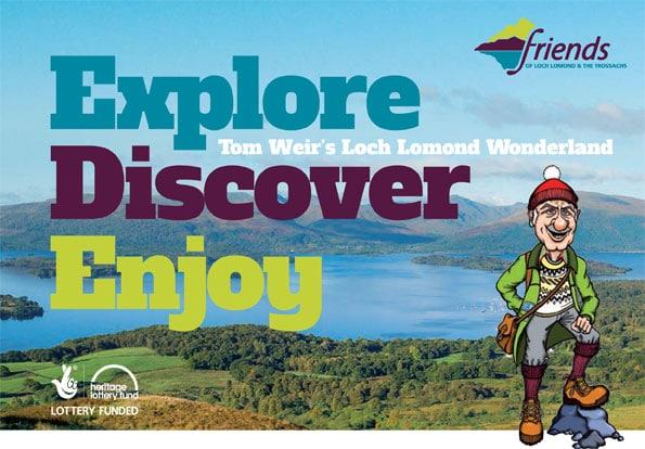 Tom Weir's Loch Lomond Wonderland Booklet