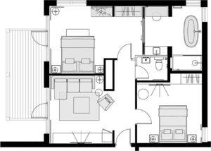 Cuillin Suite New floorplan