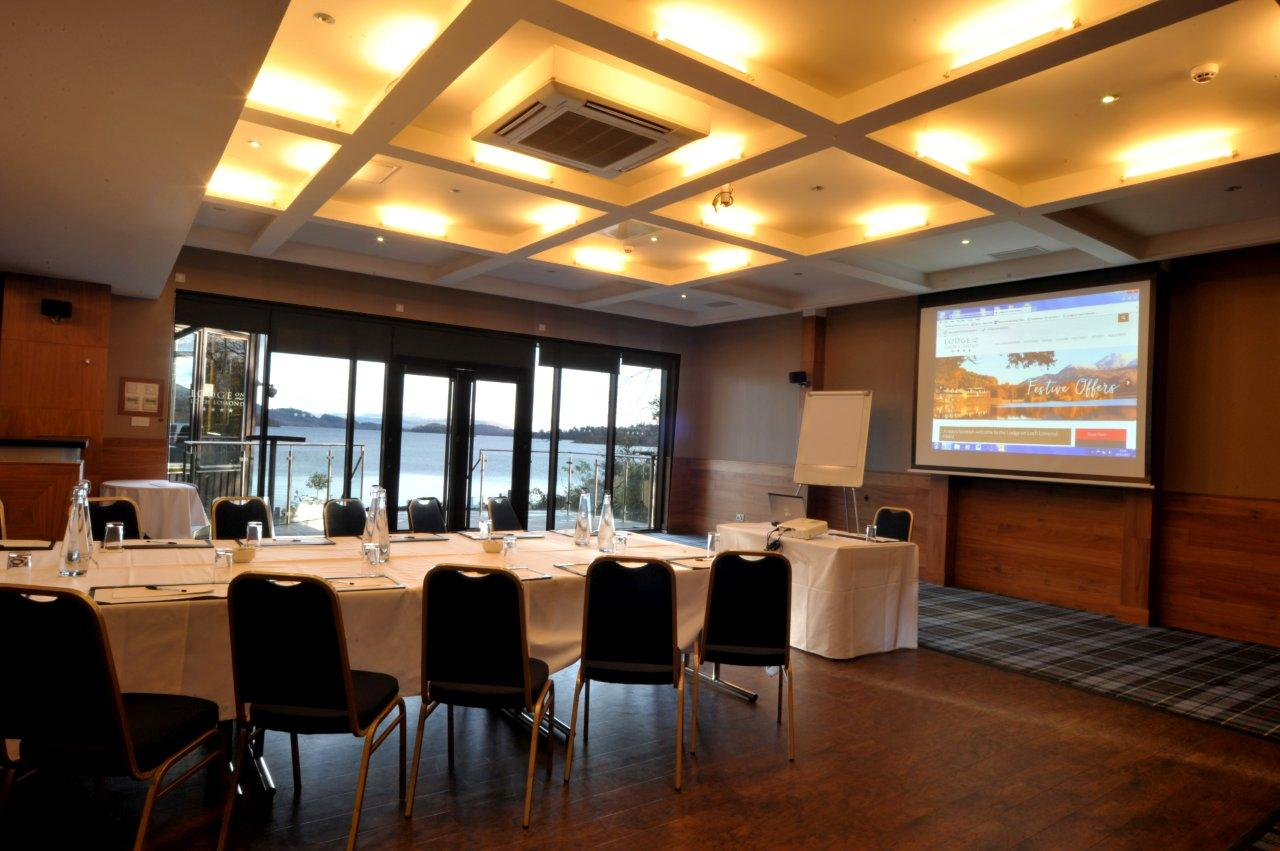 Loch Lomond Meetings Setup 1