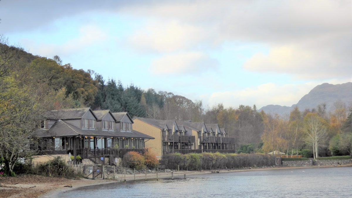 Lodge on Loch Lomond The Inspiration Highway Blog