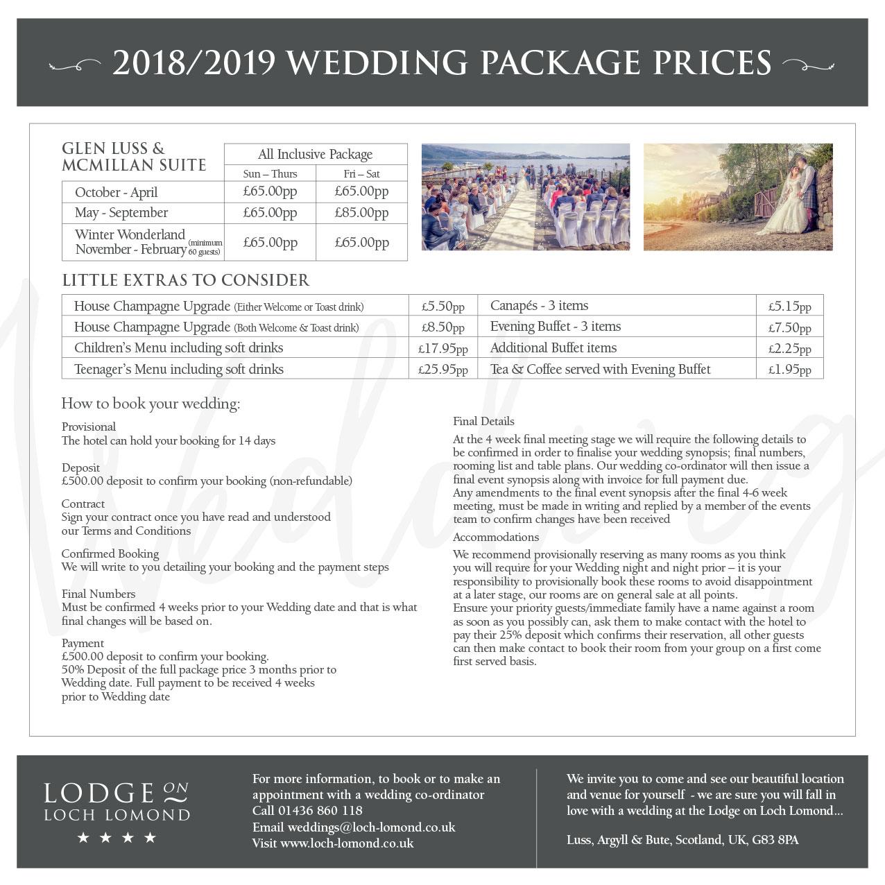 Groupon wedding deals 2018 scotland