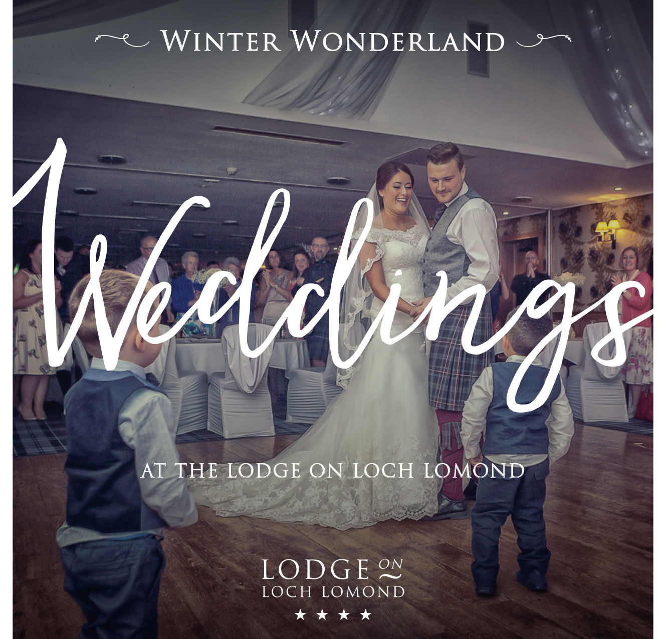 Lodge on Loch Lomond Winter Wedding packages 2018