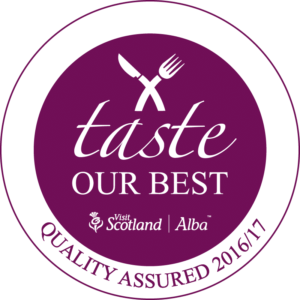 Taste our Best Lodge on Loch Lomond Quality Assured