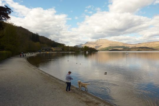 dfds.nl blog about Loch Lomond and the Lodge on Loch Lomond